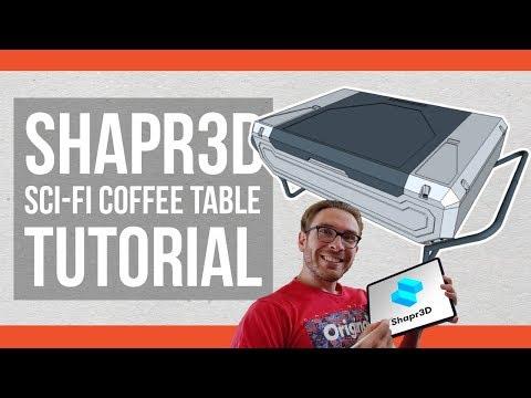 Shapr3D SciFi Furniture