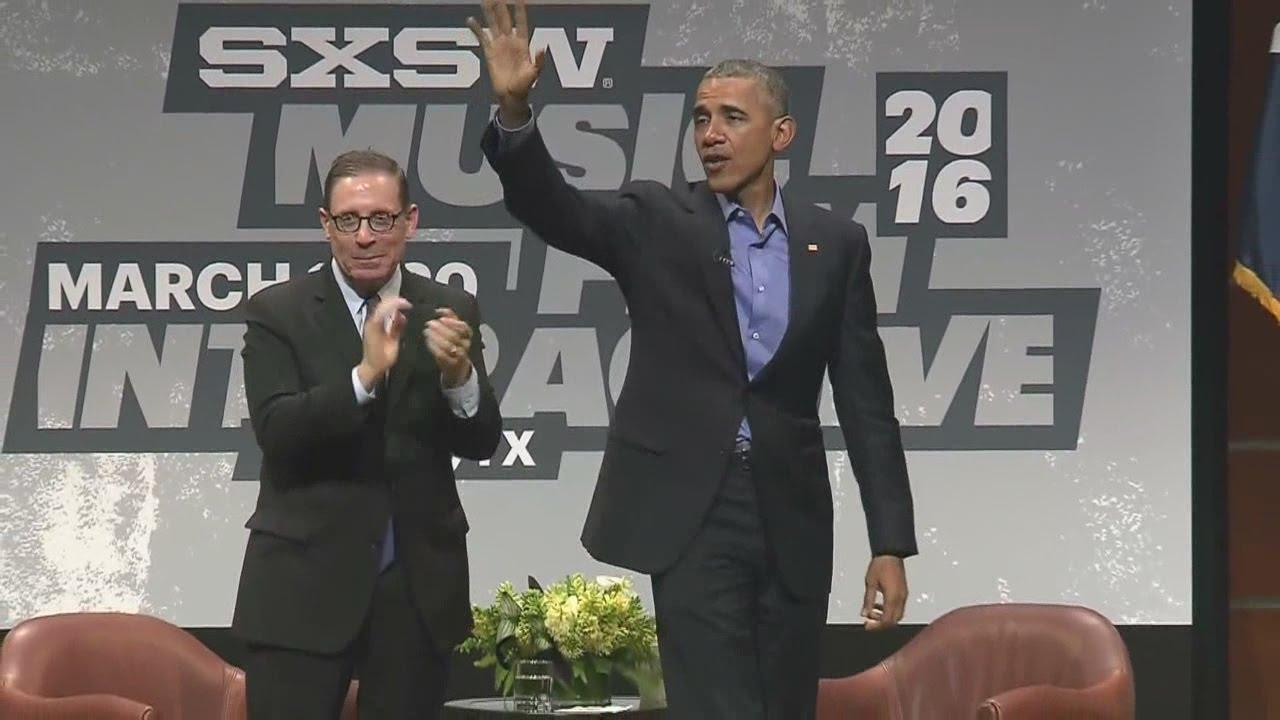 VIDEO: President Barack Obama's full keynote speech at SXSW 2016