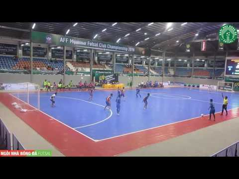 Highlight – Thái Sơn Nam 0 – 4 Thai Port – AFF Futsal Club Championship 2016 – Men