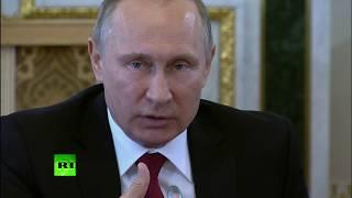 Путин  Россия не будет безвольно смотреть на продвижение НАТО к её границам
