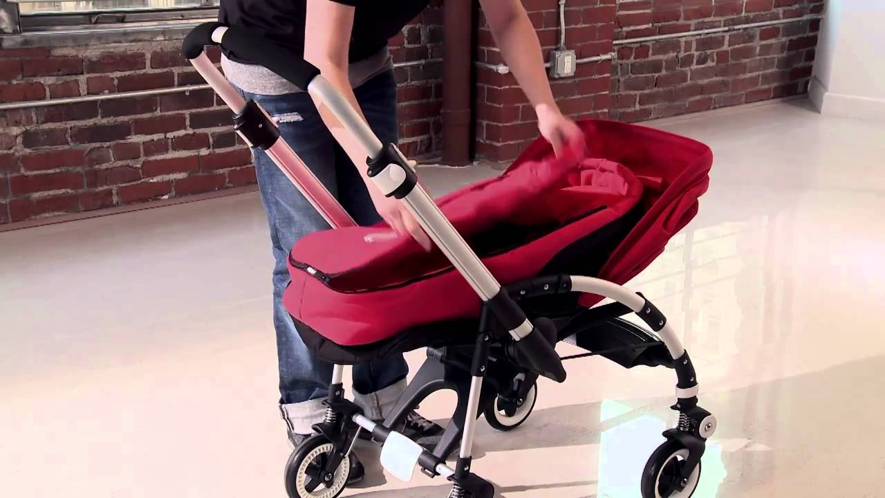Bugaboo Bee Demo Use From Birth With Baby Cocoon Youtube