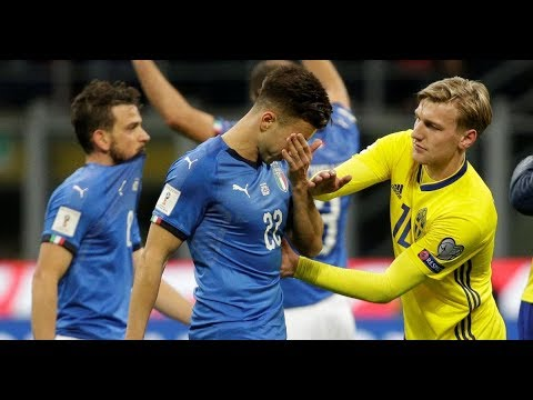 Italy Vs Sweden 0-0 All Goals & Highlights Match Extended 13-11-2017 World Cup 2018