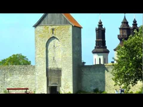 Sweden: a day in port in Visby, Gotland's medieval walled town