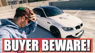 WATCH THIS BEFORE BUYING AN E9X M3 - BMW E90, E92, E93 Buying tips and what you should watch out for