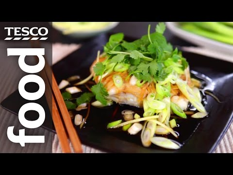 How to Make Chinese Steamed Fish with Ken Hom | Tesco Food
