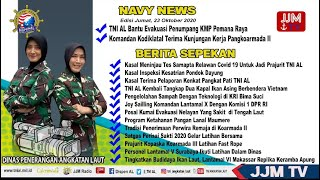 Navy News - Edisi Jumat, 23 Oktober 2020