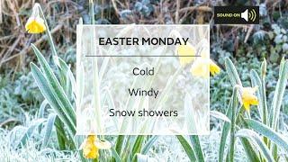 Monday morning forecast 05/04/21