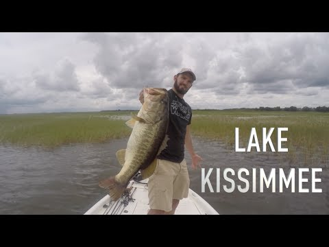 1 MONSTER FISH - AWESOME DAY FISHING ON LAKE KISSIMMEE