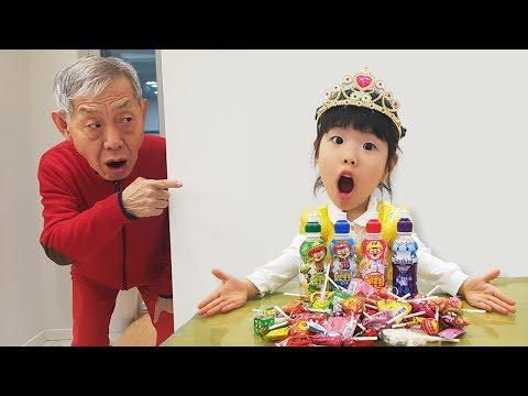 Kinderlieder Und Lernfarben with Baby Gombal Candy Kids Children #8 Finger Family Song | Romiyu 로미유