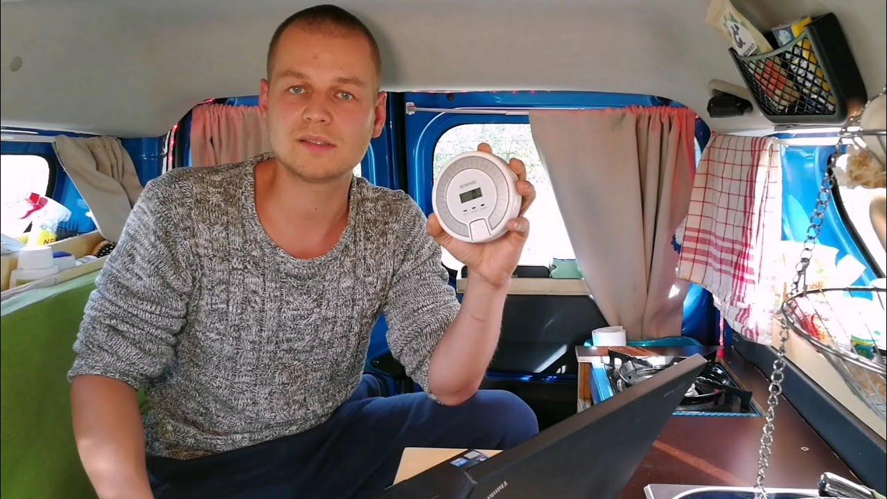 Test Gaswarner Wohnmobil