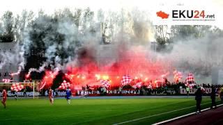 KS Sand Bus Kutno - Widzew Łódź l Doping i racowisko