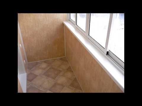 Многообразие материалов для внутренней обшивки балконов и лоджий