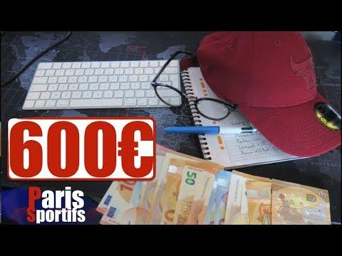Paris Sportifs : COMMENT GAGNER 600€ EN 2 JOURS