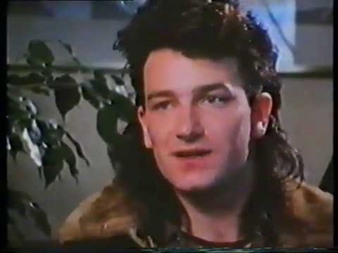 U2 - New Zealand 1984 - Bono Interview RARE