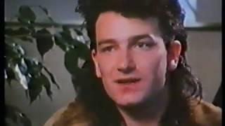 U2 - New Zealand 1984 - Bono Interview RARE