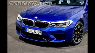 [4k] Official pictures F90 BMW M5 Frozen Dark Red Metallic and Marina Bay Blue Metallic