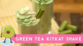 Resep Green Tea KitKat Shake
