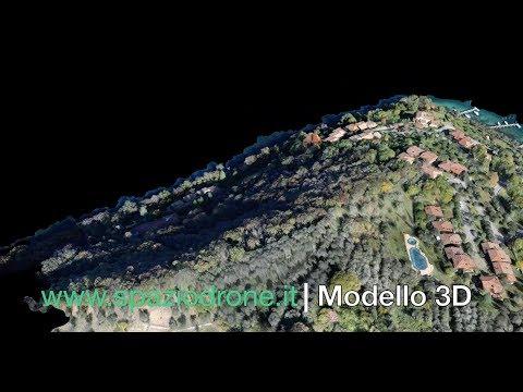 Mappatura / Rilievo con drone: Modello 3D - Mesh