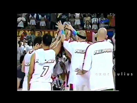 Team Philippines vs Japan 2002 Busan Asian Games-Quarter Finals/Last 1 Minute