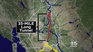 Delta Water Tunnel Plan May Get Downsized