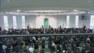 Cuma Hutbesi 06-11-2015 - Islam Ahmadiyya