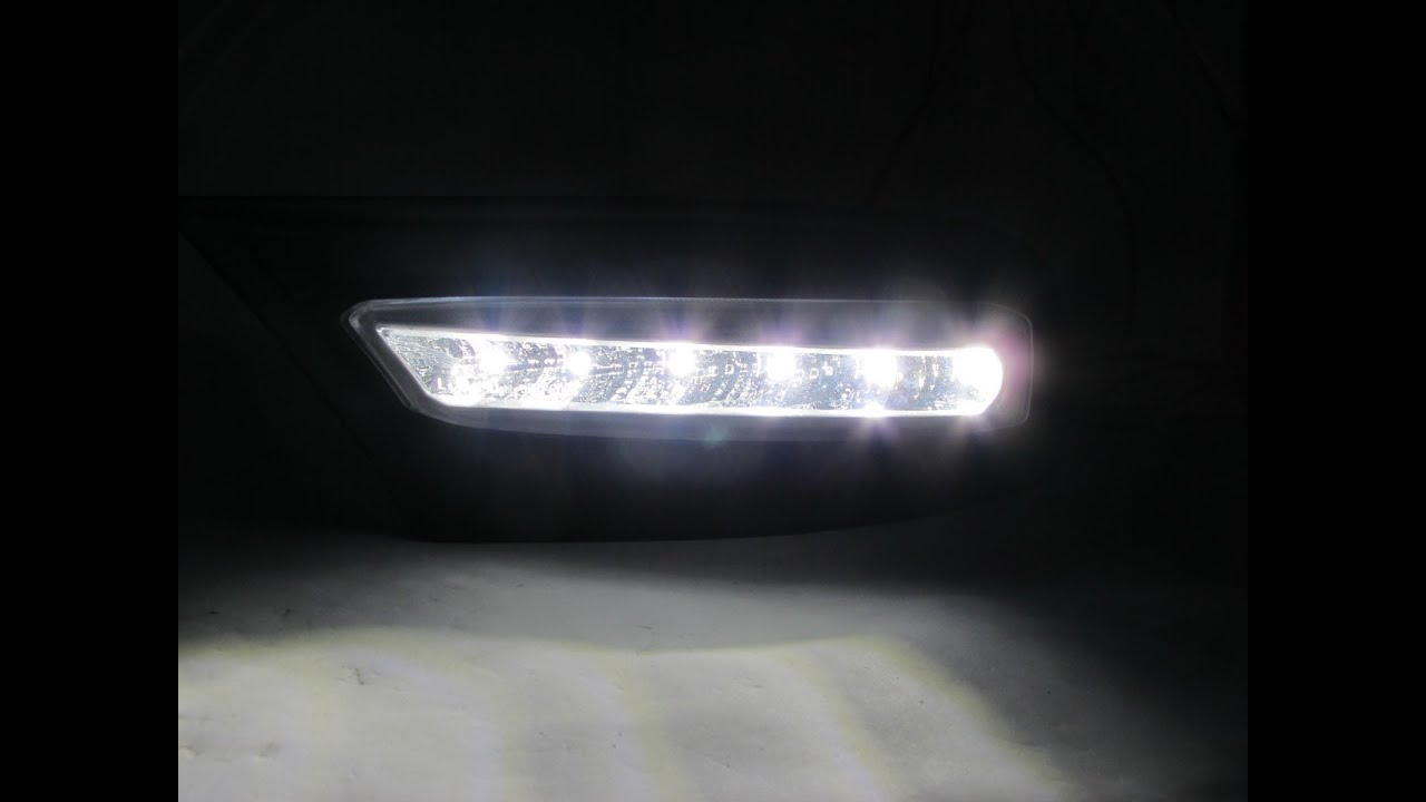 Aurion Camry 2010 2012 10 12 Drl Daytime Running Led Wo