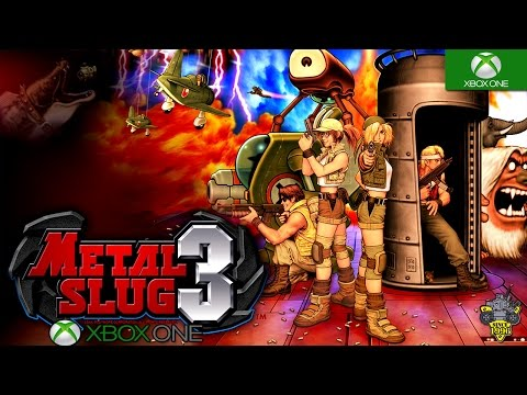 Metal Slug 3 Xbox One S Backwards Compatible Gameplay HD 1080P