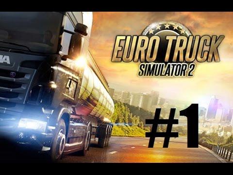 Euro Truck Simulator 2 - Part 1 Road Trip With Georgie! |