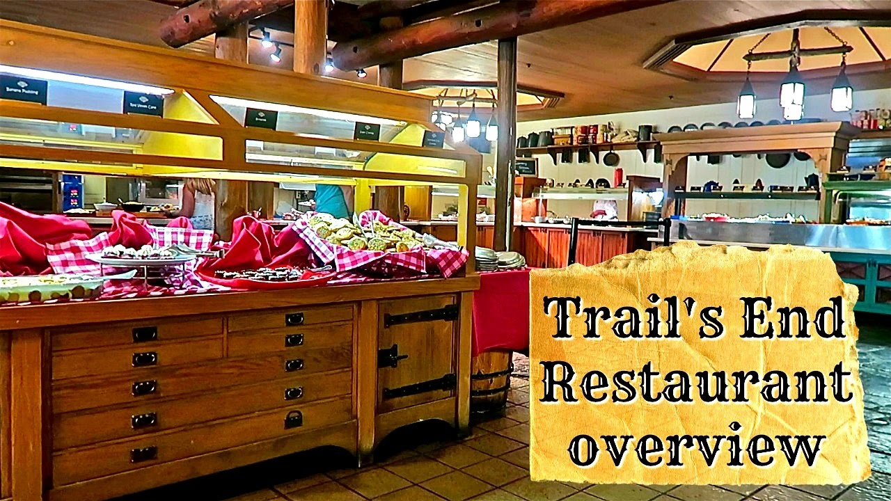 Trail S End Buffet Restaurant Overview Fort Wilderness Resort Disney World