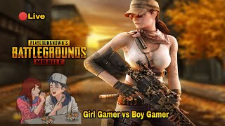 GIRL STREAMER | PUBG MOBILE LIVE | CUSTOM & TDM ROOM MATCHES | COMMENTARY  IN TAMILMALAY