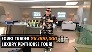 23yr Old Day Trader $8Million Penthouse Tour
