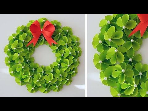 Paper Wreath for Christmas | DIY Christmas Decorations Ideas 1609