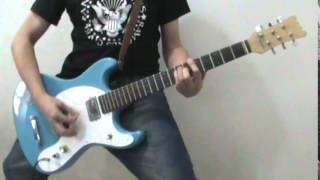 Ramones - Now I Wanna Be A Good Boy (Guitar cover)(R.I.P TOMMY RAMONE)