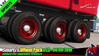 "[""American Truck Simulator"", ""Euro truck Simulator 2"", ""tuning mod"", ""Smarty's Wheel Pack""]"