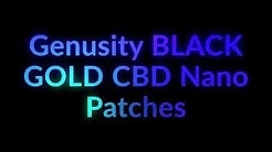 """CBD Oil For Pain? """"Black Gold"""" CBD Nano Patch May Be The Answer!!"""