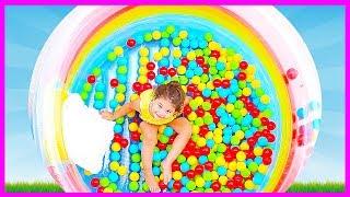 Top Havuzu - 500 Oyun Topu Döktük - Eylül Saklambaç - okul öncesi - Evcilik - Tontik tv