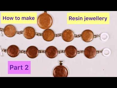 How to Make Resin Jewellery (part 2)