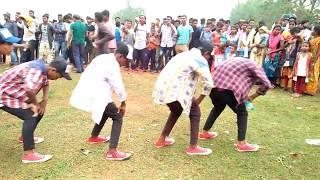 Amho menam sanging re(Akash Kumar Das) // Hullmaha Program 2019// Santali fansion video Song