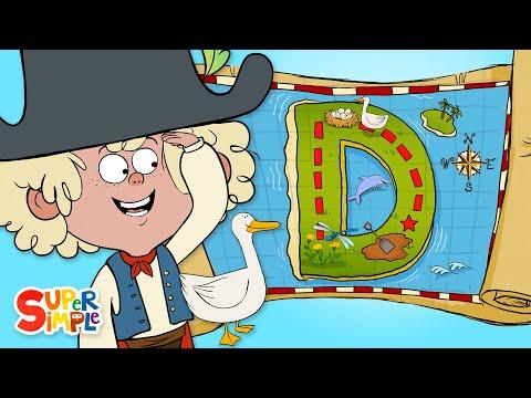 "A Daring Adventure On ""D"" Island | Captain Seasalt And The ABC Pirates | Educational Cartoon"