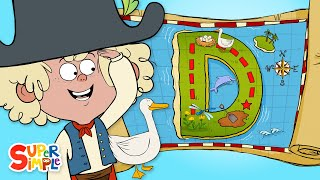 "A Daring Adventure on ""D"" Island 
