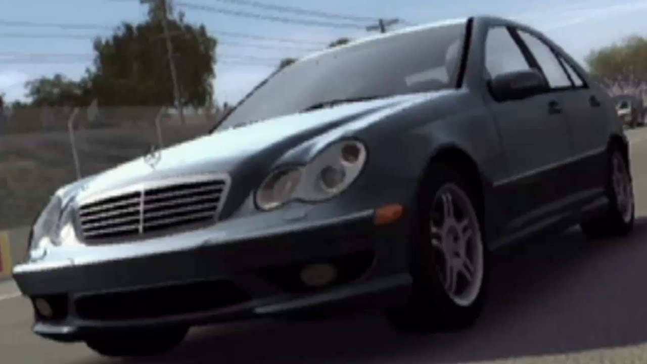 Forza motorsport 1 mercedes benz c32 amg 2004 test drive gameplay hd 1080p60fps