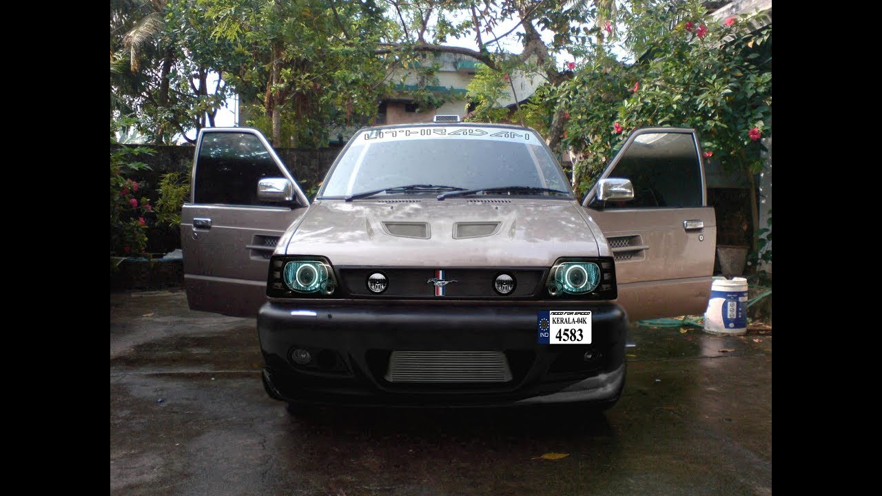 Maruti suzuki 800 modified evolution