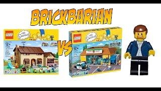 Lego Investing Simpson's House VS Kwik E Mart