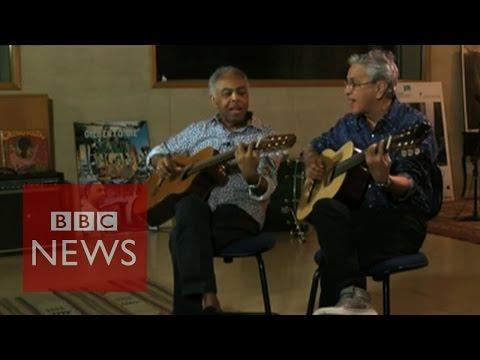Tropicalia: Caetano Veloso & Gilberto Gil on music, Brazil & friendship - BBC News
