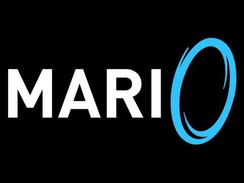 Lets Play Mari0: Super Mario Meets Portal - Part 1