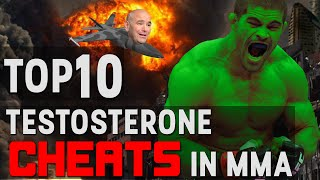 TOP 10 Cheats Caught Using Testosterone