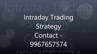 Intraday Trading Video Tutorial - Indian Stock Market