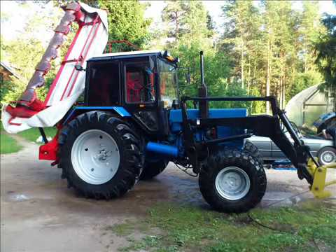 How Much Is A Power Steering Pump >> Belarus Mtz-82 Turbo - YouTube