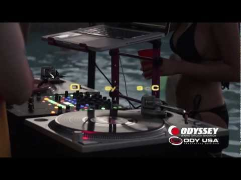 DJ Gigs 2012 Part 1: Summer House Party By The Pool Presented By Odyssey Cases