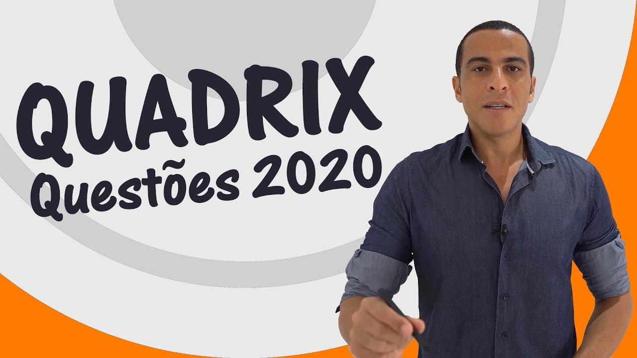 PORTUGUÊS - QUADRIX 2020 - QUESTÕES COMENTADAS